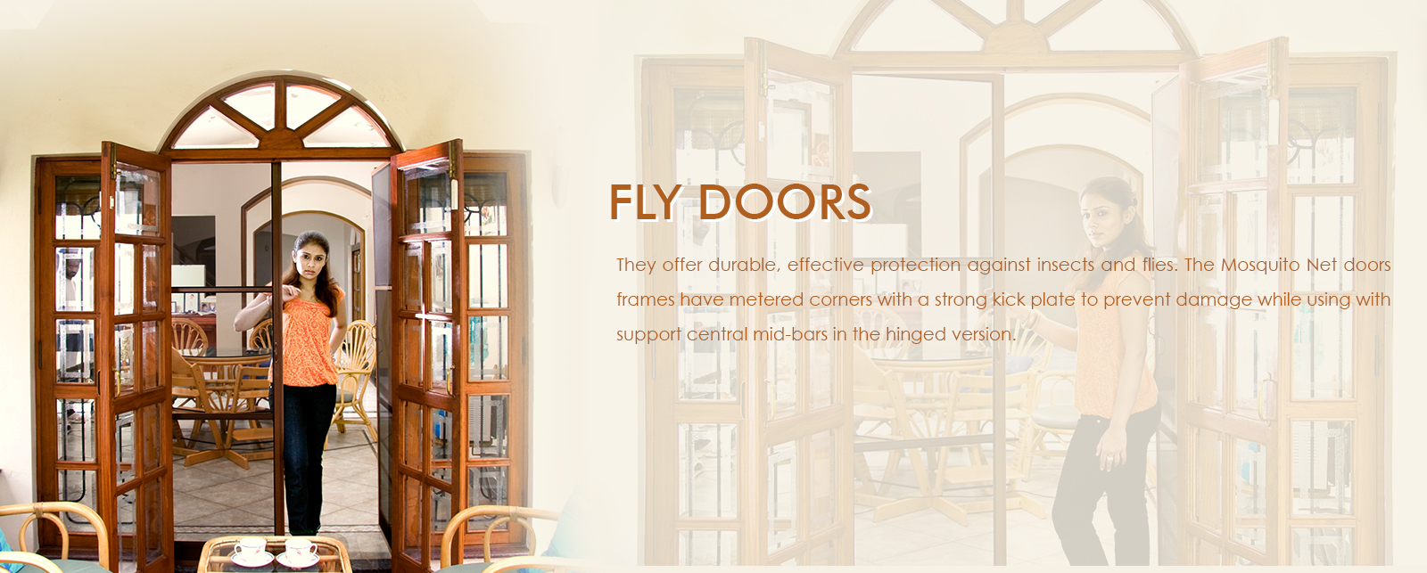 Fly Doors in Bangalore