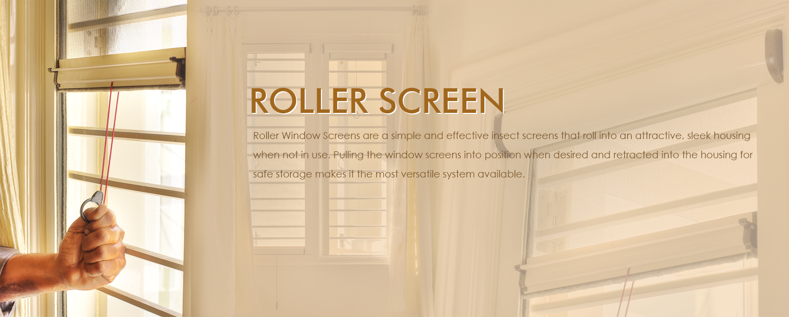 Roller Screens in Bangalore