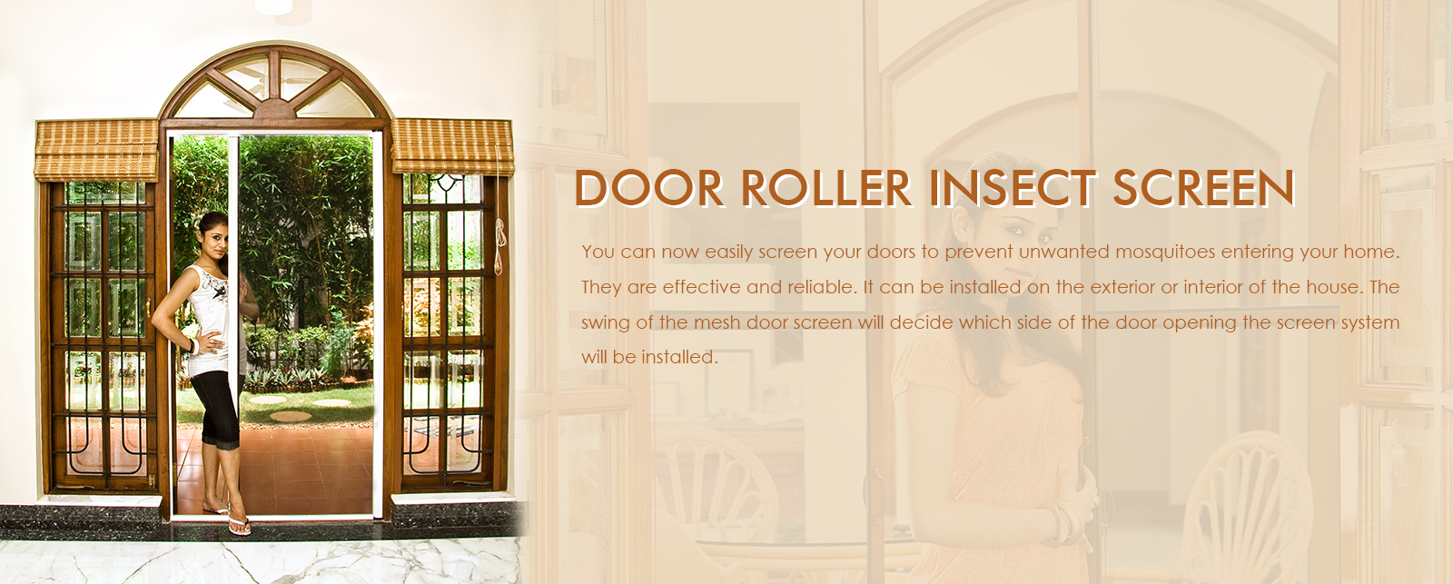 Roller insect Screens in Bangalore