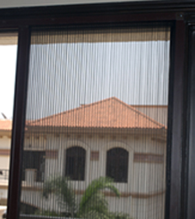 Pleated Net Doors & Pleated Net Doors Manufacturers Bangalore | Spectra Services